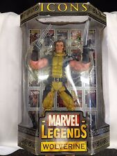 """MARVEL LEGENDS ICONS 12"""" WOLVERINE ACTION FIGURE! NEW! UNOPENED!"""