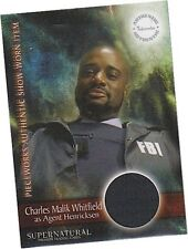 Supernatural Season 3: PW-6 Charles Whitfield - Agent FBI Jacket Pieceworks Card