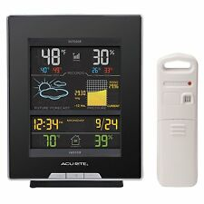 Indoor Outdoor Weather Station Acurite Color Digital Home Wireless Thermometer