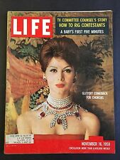 Life Magazine November 16 1959  TV Committee - How To Rig Contestants