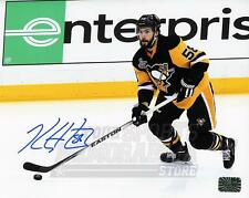 Kris Letang Pittsburgh Penguins Signed Autographed Stanley Cup Finals 8x10