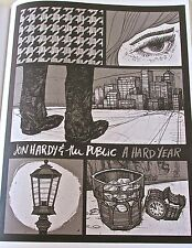 John Hardy & the Public Mini- Poster Reprint for 2010 Gig in St. Louise 14x10