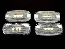 2003-2009 DODGE RAM 3500 LED SIDE FENDER DUALLY BED MARKER LIGHTS CLEAR 4 PC SET