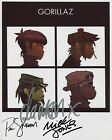 The Gorillaz SIGNED Photo 1st Generation PRINT Ltd, No'd + Certificate (1)