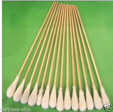 Cotton Swabs Swab Applicator Q-tip 100 Pcs 15cm EXTRA LONG Wood Handle STURDY!