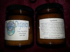 4oz Detox Pain, Cold & Flu Organic & Vegan Herbal Ozonated Bath Salts! OZONE