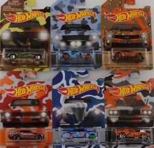 MIMETICO Set 6 PC pickup Shelby Chevy Nova Camaro zl1 1:64 HOT WHEELS USA
