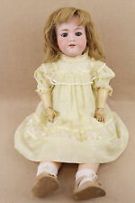 "26"" antique bisque head composition German Armand Marseille DOLLY FACE girl doll"