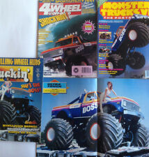 AM/PM Boss Monster Truck 4 magazine package including poster book