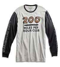 Lucky Brand - $49 - Mens L - Motorcycle 200 Miles/Hour Club Long Sleeve T-Shirt