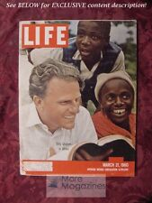 LIFE Magazine March 21 1960 BILLY GRAHAM DEBUTANTES NEW ZEALAND