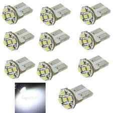 10x T10 169 194 501 W5W 5 SMD LED Pure White Canbus Car Wedge Light Lamp Bulb DC