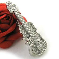 Violin Cello Music Instrument Brooch Pin Fashion Jewelry for Women