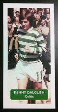 SCOTLAND - CELTIC - KENNY DALGLISH  Score UK football trade card