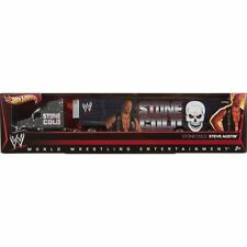 NIB Hot Wheels WWE Wrestling STONE COLD STEVE AUSTIN Semi Truck Trailer Hauler