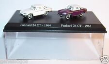 COFFRET ATLAS DUO HO 1/87 2 METAL PANHARD 24CT 1964 24 CT BICOLORE 1963 IN BOX