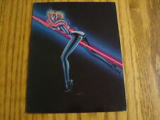 OLIVIA DE BERARDINIS GREETING O CARD VINTAGE 1980 ART NEON RIDE SKIN TIGHT
