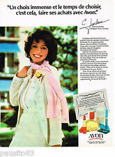 PUBLICITE ADVERTISING 065  1978  AVON  maquillage  & cosmétiques parfums