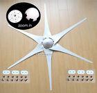 """6 x 53"""" Wind Turbine Generator Blades + Hub + Nose Cone 6 socket fit Air-X 403"""