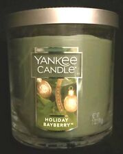 Yankee Candle ~ HOLIDAY BAYBERRY TUMBLER CANDLE (7 oz) - Free Priority Shipping!