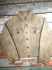 VINTAGE 1960`S WRANGLER BLUE BELL CORDUROY 2 POCKET BUTTON UP JACKET MEDIUM