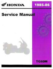 1985-1986 Honda TG50 M Service Manual - RepairManual.com