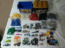 Large Lot of Lego Pieces 8.5 lbs + Containers 50th Anniversary Gold Bricks ++++