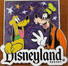 PLUTO & GOOFY Disneyland COSTCO TRAVEL Gift GWP DISNEY PIN PURPLE STARS