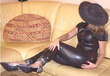 Latex Leggings Gr L schwarz Rubber Latexleggings Gummi Black Domina Fetish