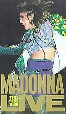 Madonna - Live - The Virgin Tour (VHS, 1985) VHS VIDEO TAPE