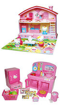 TWO Popular Hello Kitty Sets - Kitty House and Kitchen - Sold Together