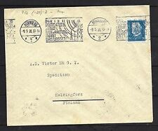 1931 Germany Perfin 25 pf Cover To Finland