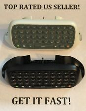 XBOX 360 ~1 GENUINE OFFICIAL OEM CHATPAD KEYBOARD ~ PICK YOUR COLOR ✔SHIPS TODAY