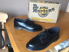 Vintage Dr Martens 2093 black shoes UK 6 EU 39 England skin ward mod kawaii 1461