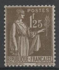 """FRANCE STAMP TIMBRE N° 287 """" TYPE PAIX 1F25 OLIVE """" NEUF xx TTB  N438"""