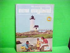 1965 AMERICAN AIRLINES TRAVEL MAGAZINE THE AMERICAN SCENE NEW ENGLAND TOURIST