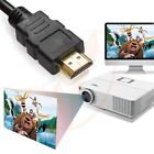 NEW 15FT 4.6M Gold HDMI 1.4 Cable Blu-Ray 3D HD TV DVD PS3 XBOX LCD HDTV 1080P