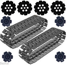 Lego  50 Tread Links + 8 Sprockets (technic,mindstorms,nxt,robot,tracks,ev3,car)