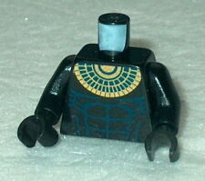 TORSO M034 Lego Bare Chest w/ Muscles & Gold Necklace Pattern  NEW Anubis Guard