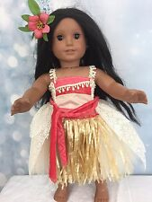 """Moana Inspired Tutu Dress Fits American Girl And All 18"""" dolls"""