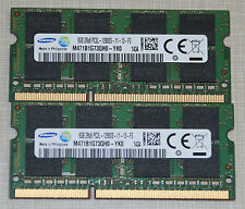 Samsung 16GB (2X8GB) PC3L-12800 DDR3 1600MHz SODIMM LAPTOP MEMORY