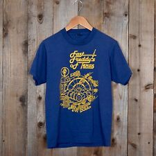 Vintage 80s Fast Freddy's of Texas bar games screen stars best small t-shirt