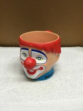 Ringling Brothers Barnum And Bailey Greatest Show On Earth Child's Clown Cup
