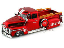 JADA 96802 BIGTIME KUSTOMS 1951 51 CHEVROLET PICK UP TRUCK 1/24 DIECAST RED