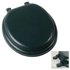 Premium Hunter Forest Green Soft Padded Round Toilet Seat Cushioned - New