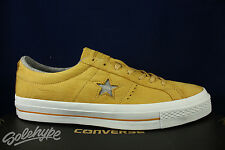 CONVERSE ONE STAR OX NUBUCK SOBA YELLOW ASH GREY 153718C SZ 10.5