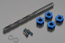 Traxxas Aluminum 12mm Hex Wheel Adaptors XO-1 Slash Rustler Spline 6mm TRA6869