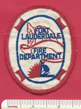 Old Fort (FT) Lauderdale Fl Fla State Florida Fire Rescue Patch - Broward County
