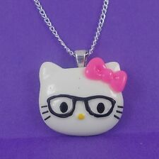 NERD HELLO KITTY pink glasses kitsch kawaii harajuku sanrio girlie cute kitsch