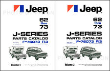 1962-1973 Jeep Gladiator Truck and Wagoneer Parts Book J200 J300 J2000-J4000